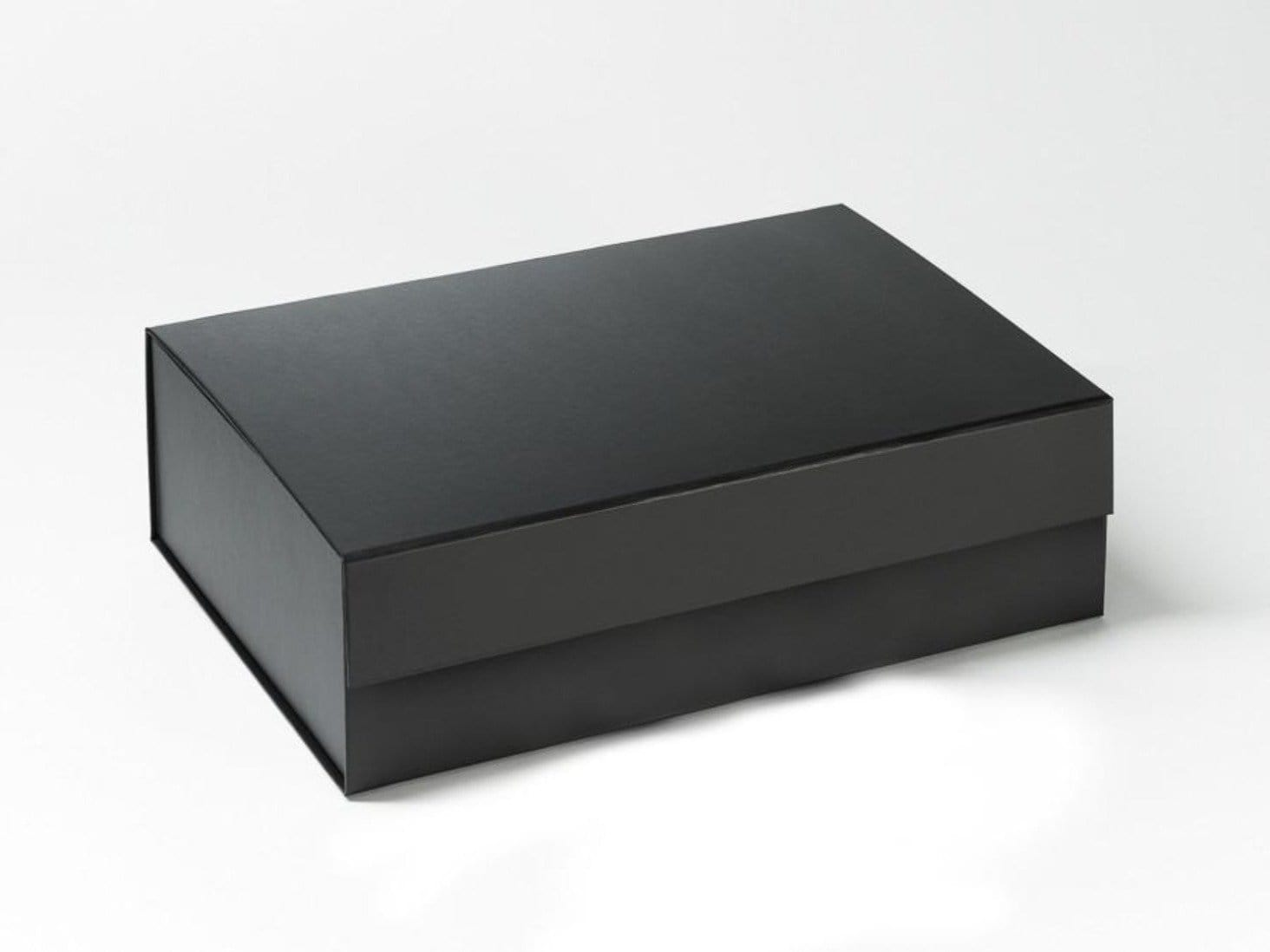 Black A4 Folding Magnetic Luxury Gift Hamper Box from Foldabox