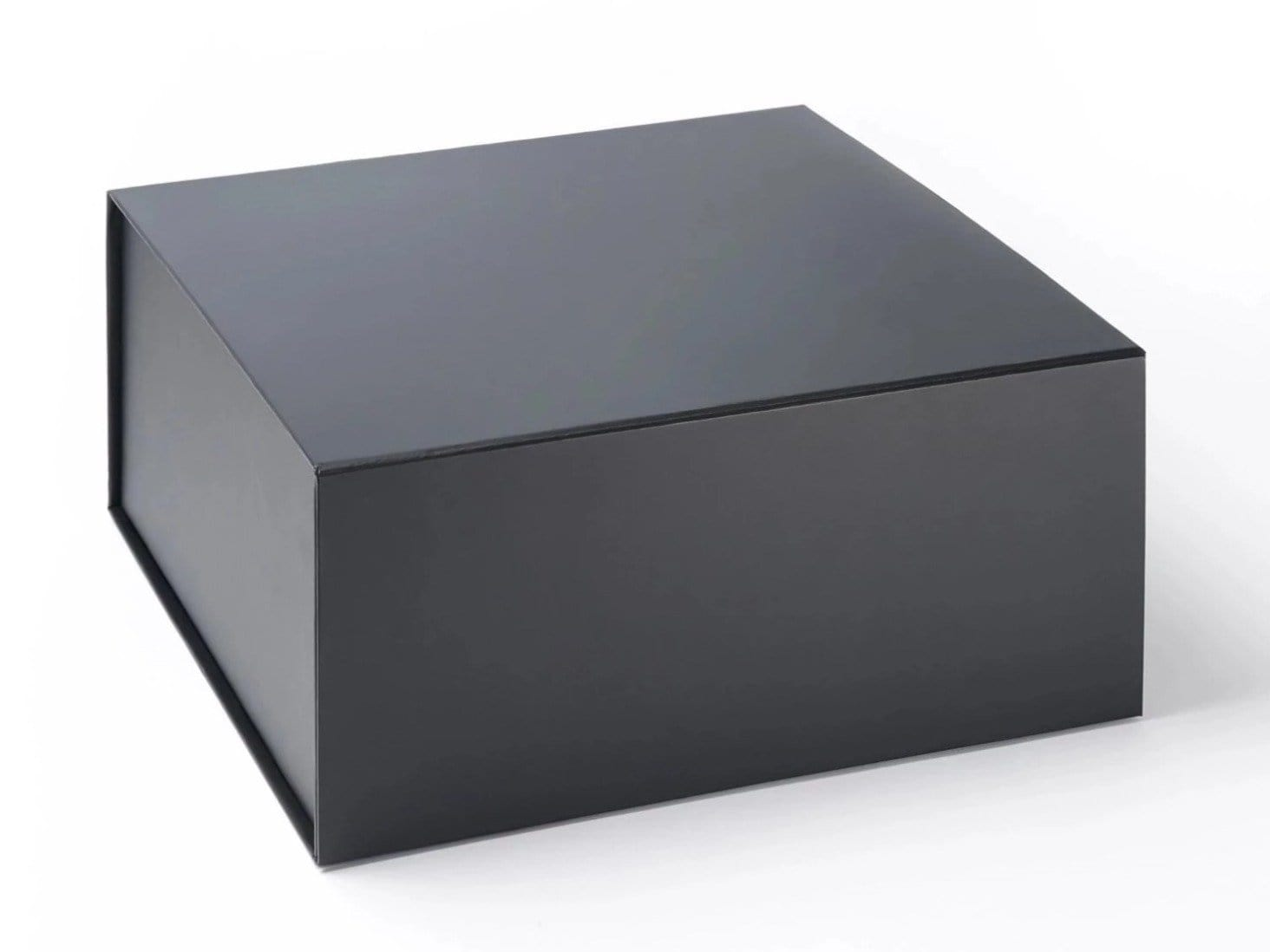 Black Extra Large Deep No Ribbon Hamper Gift Box Sample
