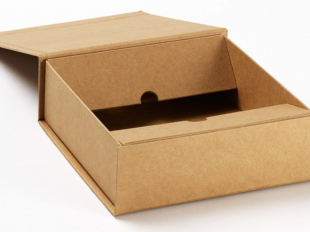 Natural kraft extra large gift boxes for eco friendly