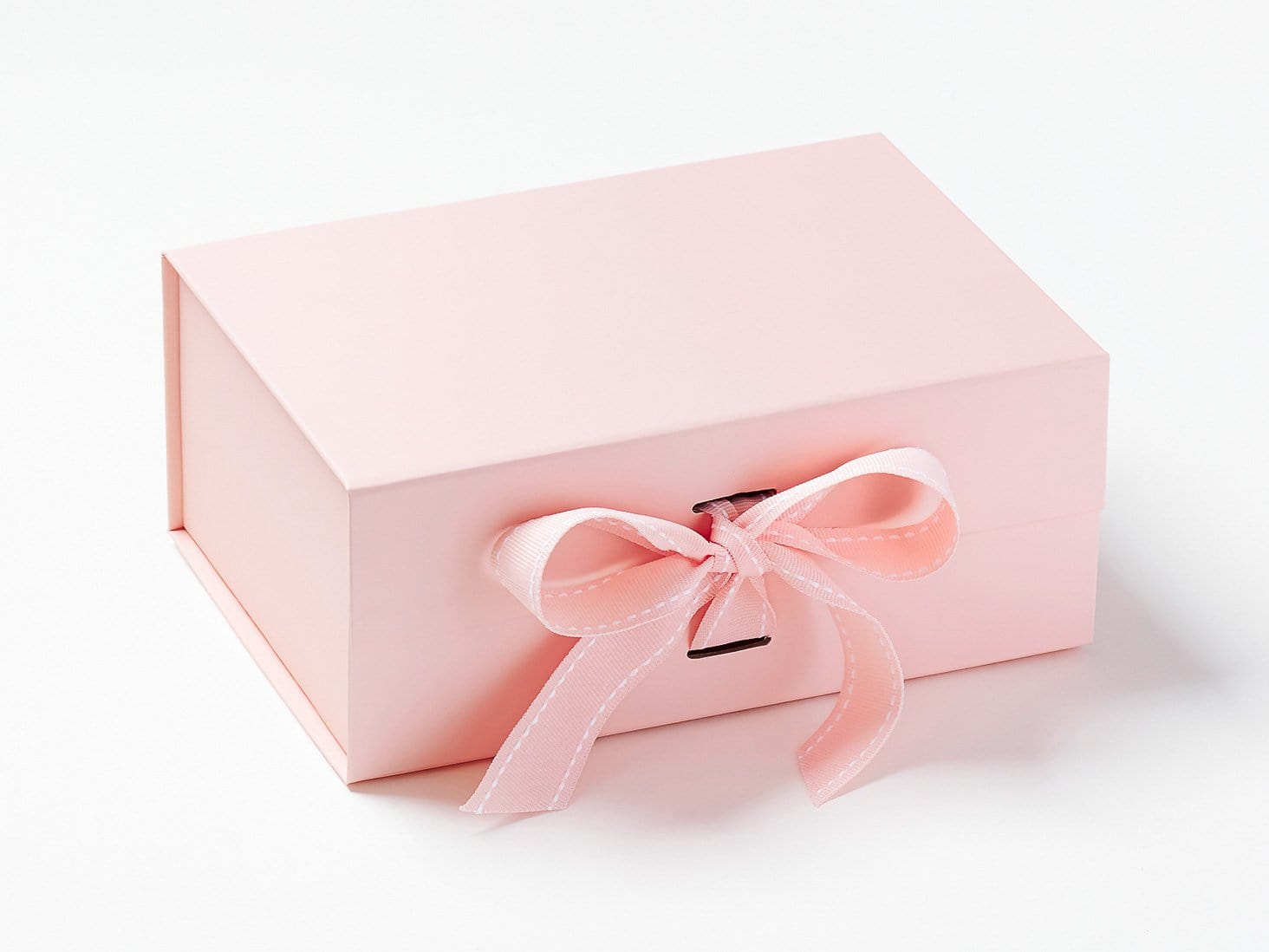 Pale Pink A5 Deep Gift Box with Changeable Ribbon