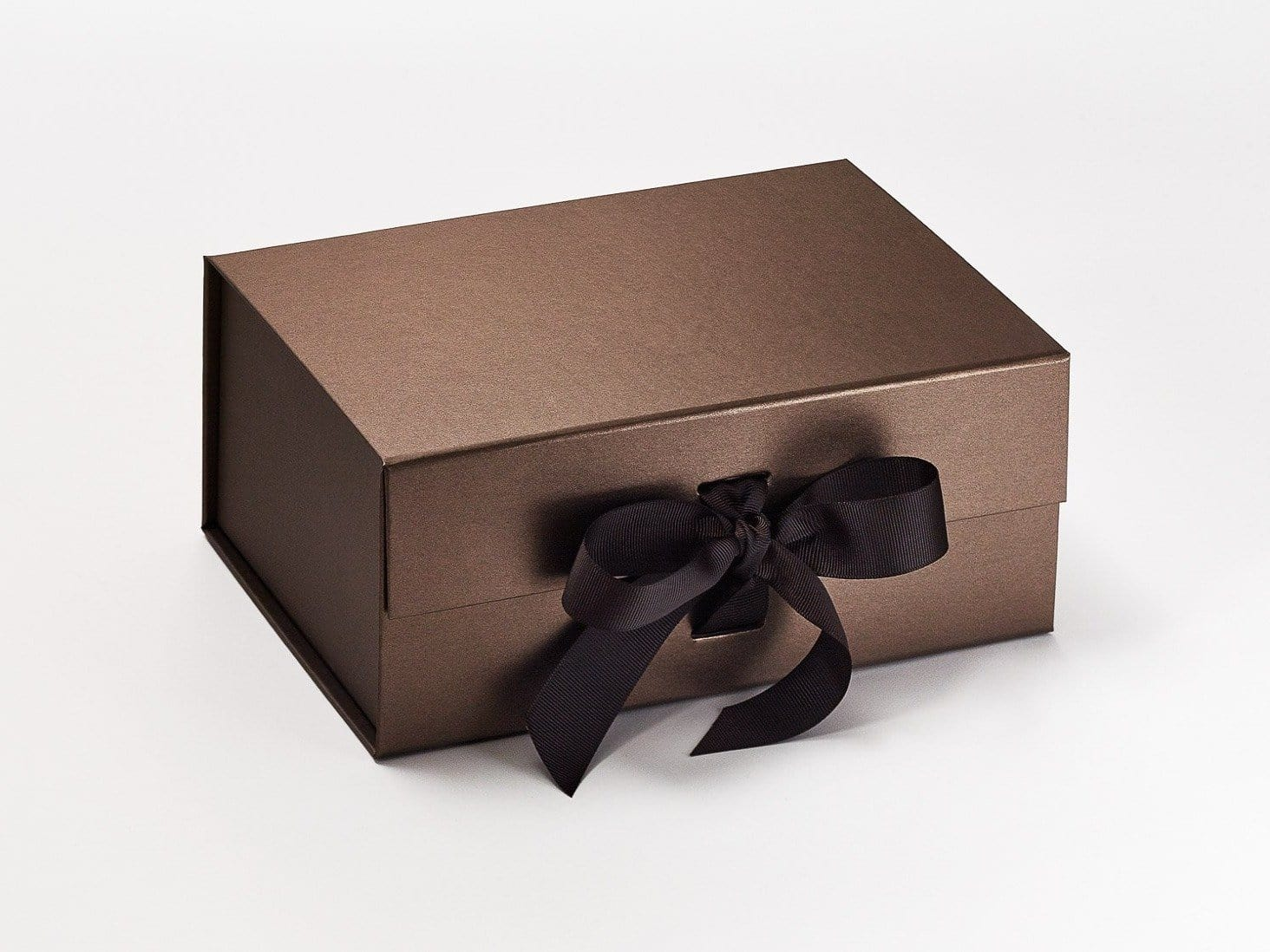 Sample Bronze A5 Deep Gift Box With Changeable Ribbon