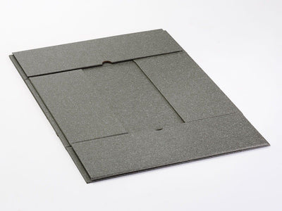 Naked Grey A4 Deep Folding Gift Box Supplied Flat