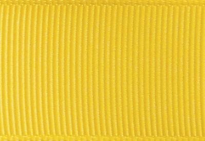 Daffodil Yellow Grosgrain Ribbon Sample for Slot Gift Boxes