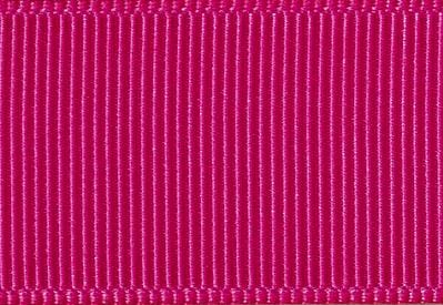 Hot Cerise Pink Grosgrain Ribbon Sample for Slot Gift Boxes