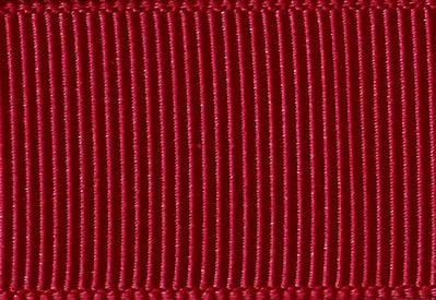 Dark Ruby Red Grosgrain Ribbon Sample for Slot Gift Boxes