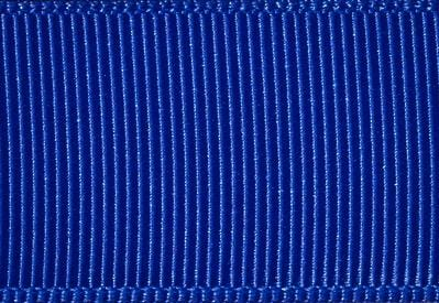 Cobalt Blue Grosgrain Ribbon to fit Slot Gift Boxes with Changeable Ribbon