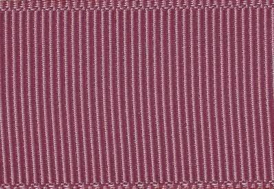 Rosy Mauve Grosgrain Ribbon for Slot Gift Boxes