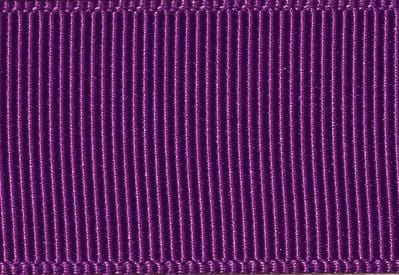 Ultra Violet Grosgrain Ribbon for Slot Gift Boxes with Changeable Ribbon
