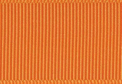 Tangerine Grosgrain Ribbon Sample for slot Gift Boxes with Changeable Ribbon