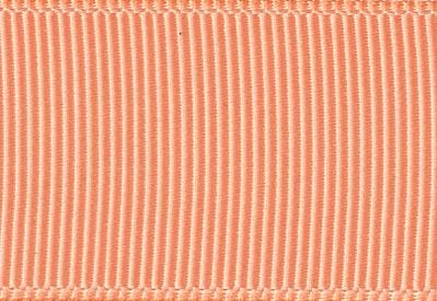 Fuzzy Peach Grosgrain Ribbon for Slot Gift Boxes