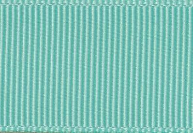 Aqua Grosgrain Ribbon Sample for Slot Gift Boxes with Changeable Ribbon