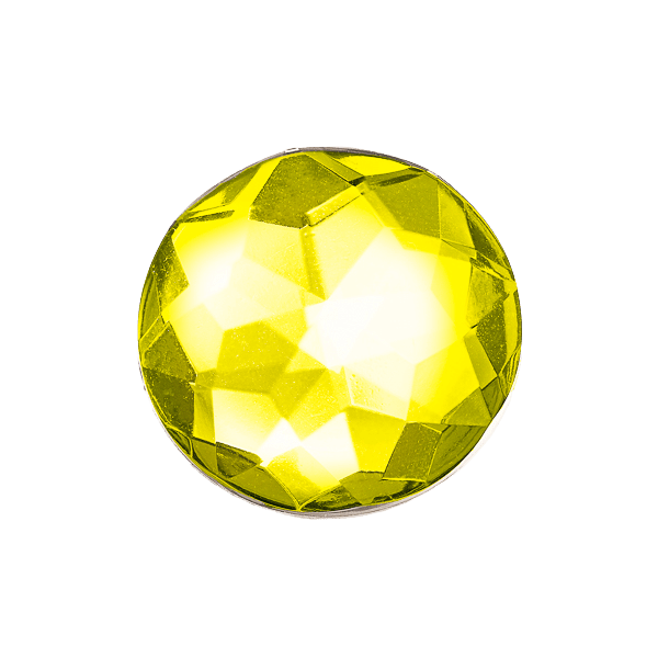 Yellow Diamond Decorative Gemstone Gift Box Closure Sample