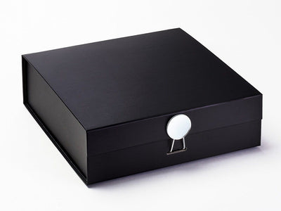 Black Luxury Gift Box Featured with Mirror Disc Closure
