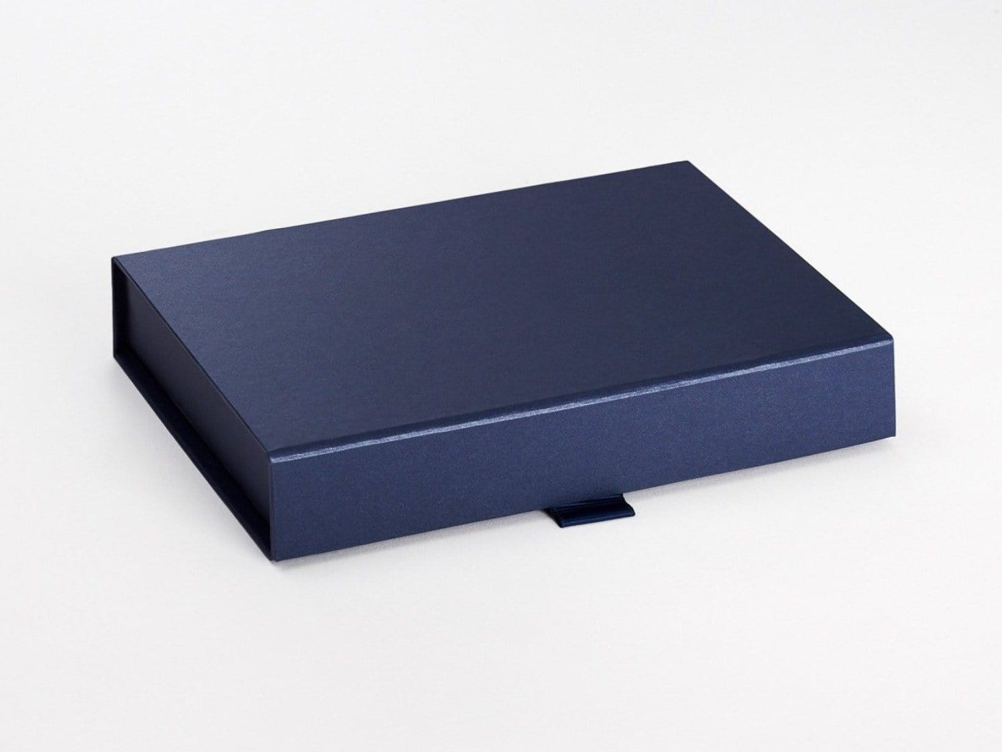 Navy Blue A5 Shallow Folding Gift Box