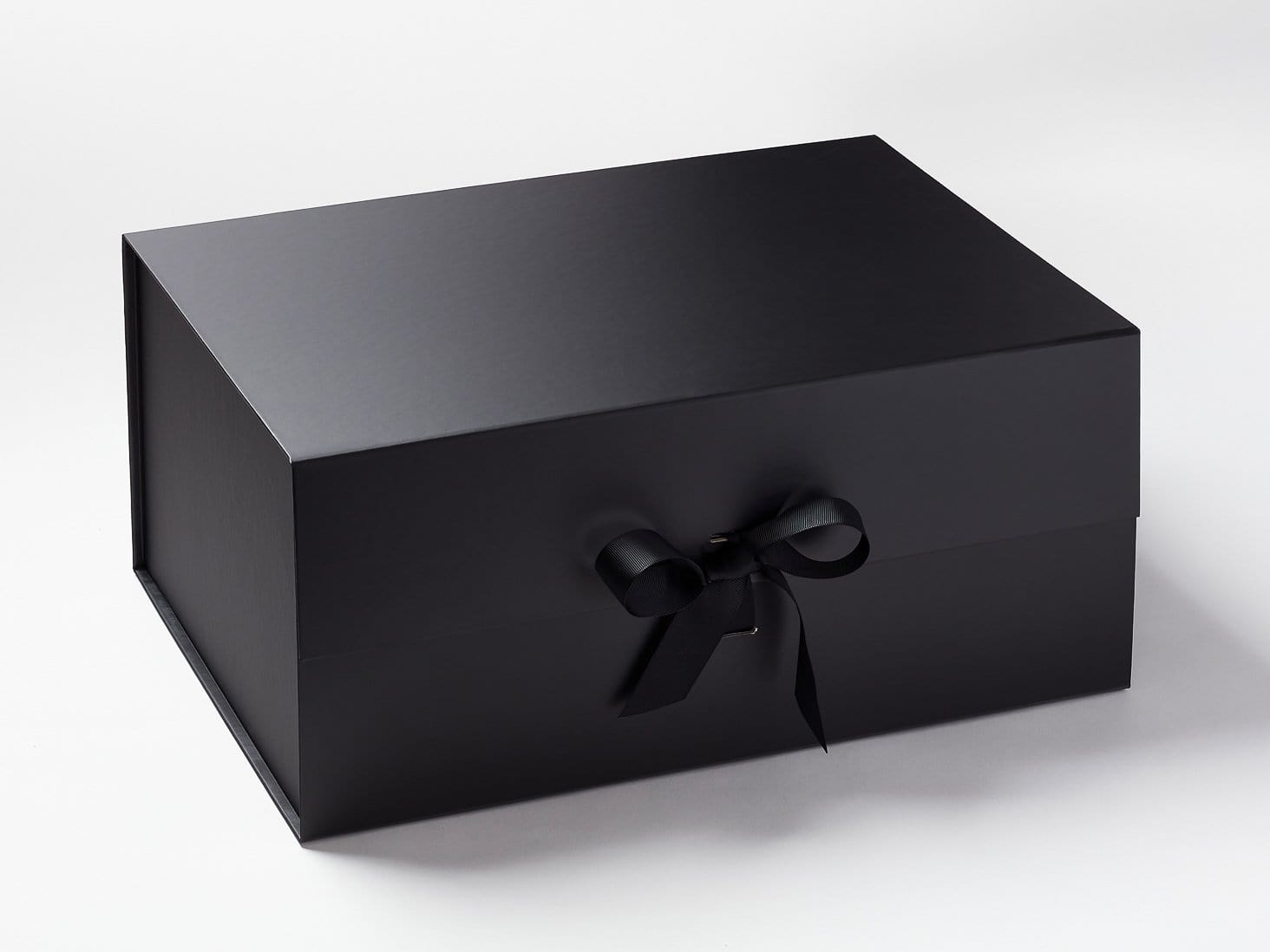Black A3 Deep Gift  Box with  Changeable  Ribbon