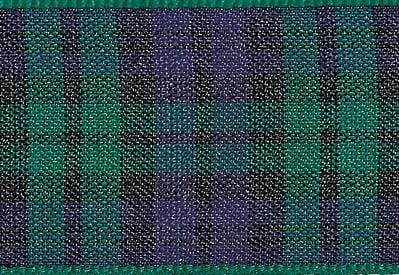Black  Watch Tartan Ribbon fro Slot Gift Boxes