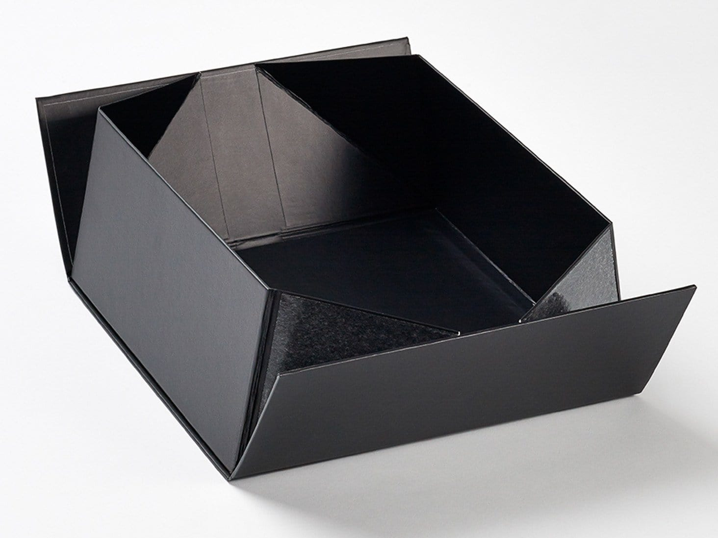 wholesale black medium lift off lid gift boxes from stock at