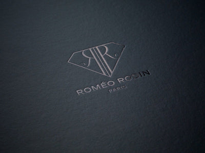 Custom Black Foil Blocked logo onto Black Gift Box