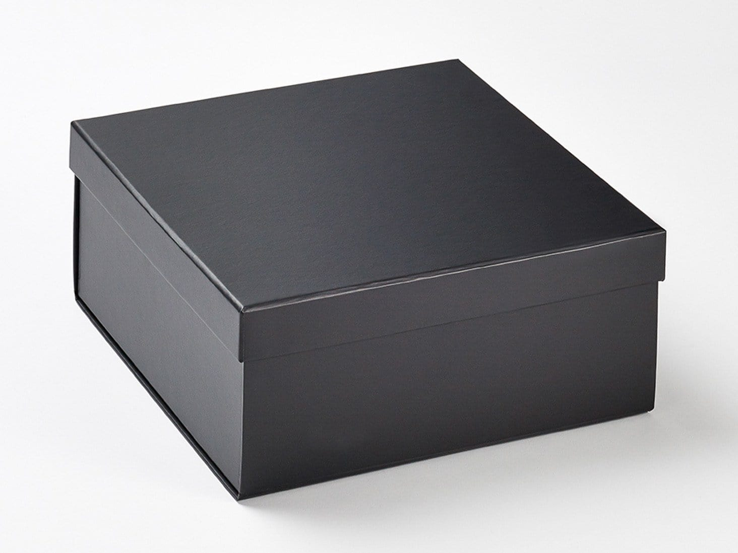 Black Medium Lift Off Lid Gift Box With Lid Assembled