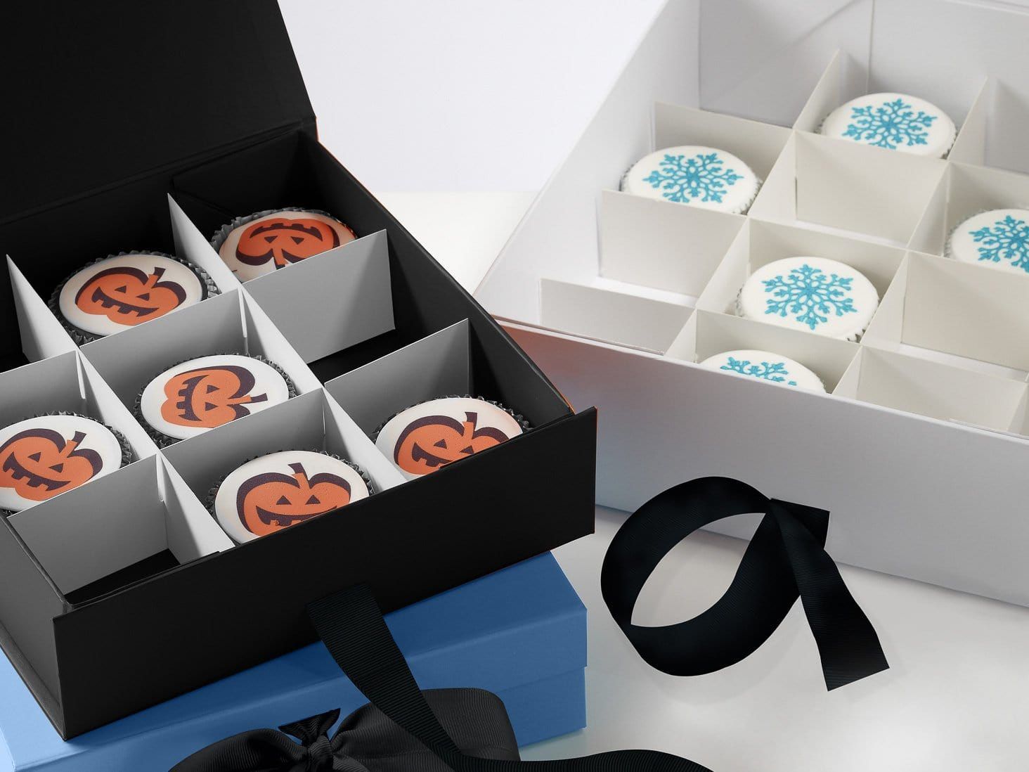Cupcake Packaging Dividers For Medium Gift Boxes Foldabox Uk And Europe