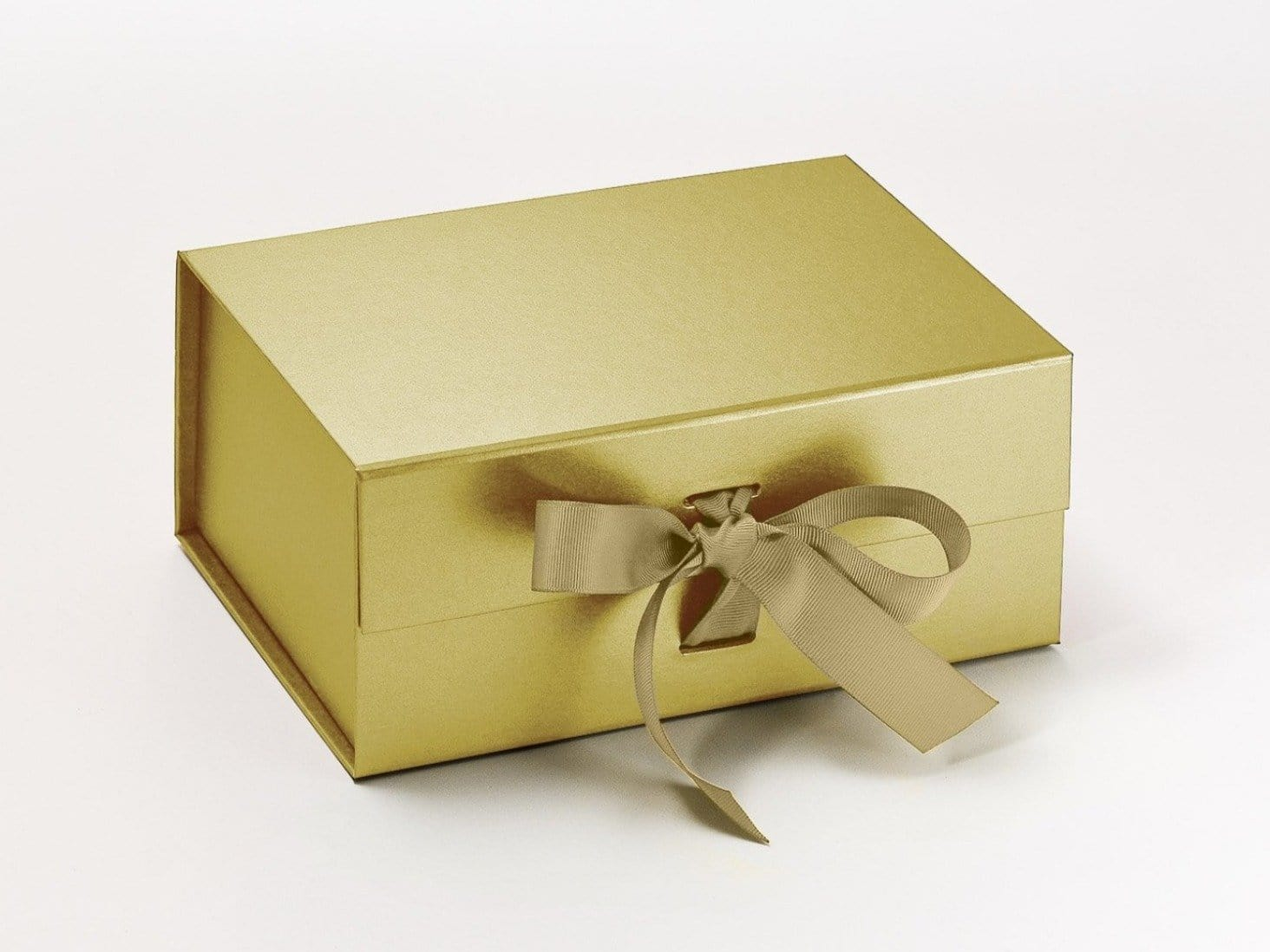 Gold A5 Deep Luxury Gift Box from Foldabox