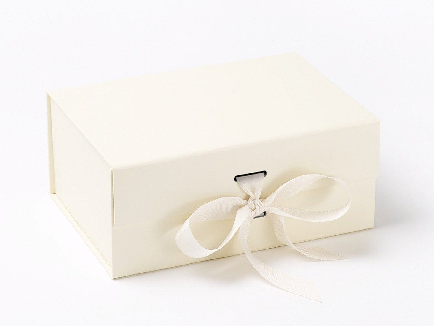 Ivory A5 Deep Folding snap Shut Magnetic Gift Box