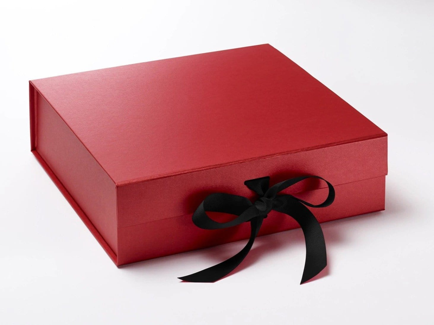 Red Large Luxury Folding Gift Boxes with Changeable Ribbon ...