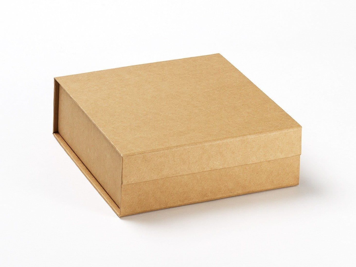Large Natural Kraft Folding Gift Boxes with Magnetic Snap Shut Closure