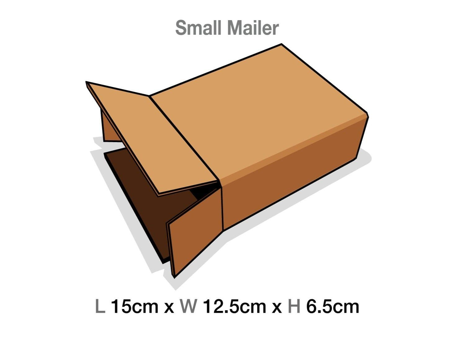 Small Gift Box Protective Corrugated Mailing Cartons
