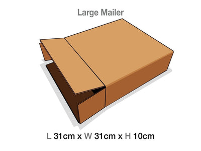Large Gift Box Protective Corrugated Mailing Carton
