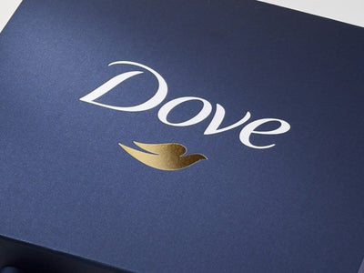 Navy Blue A6 Shallow Gift Boxes