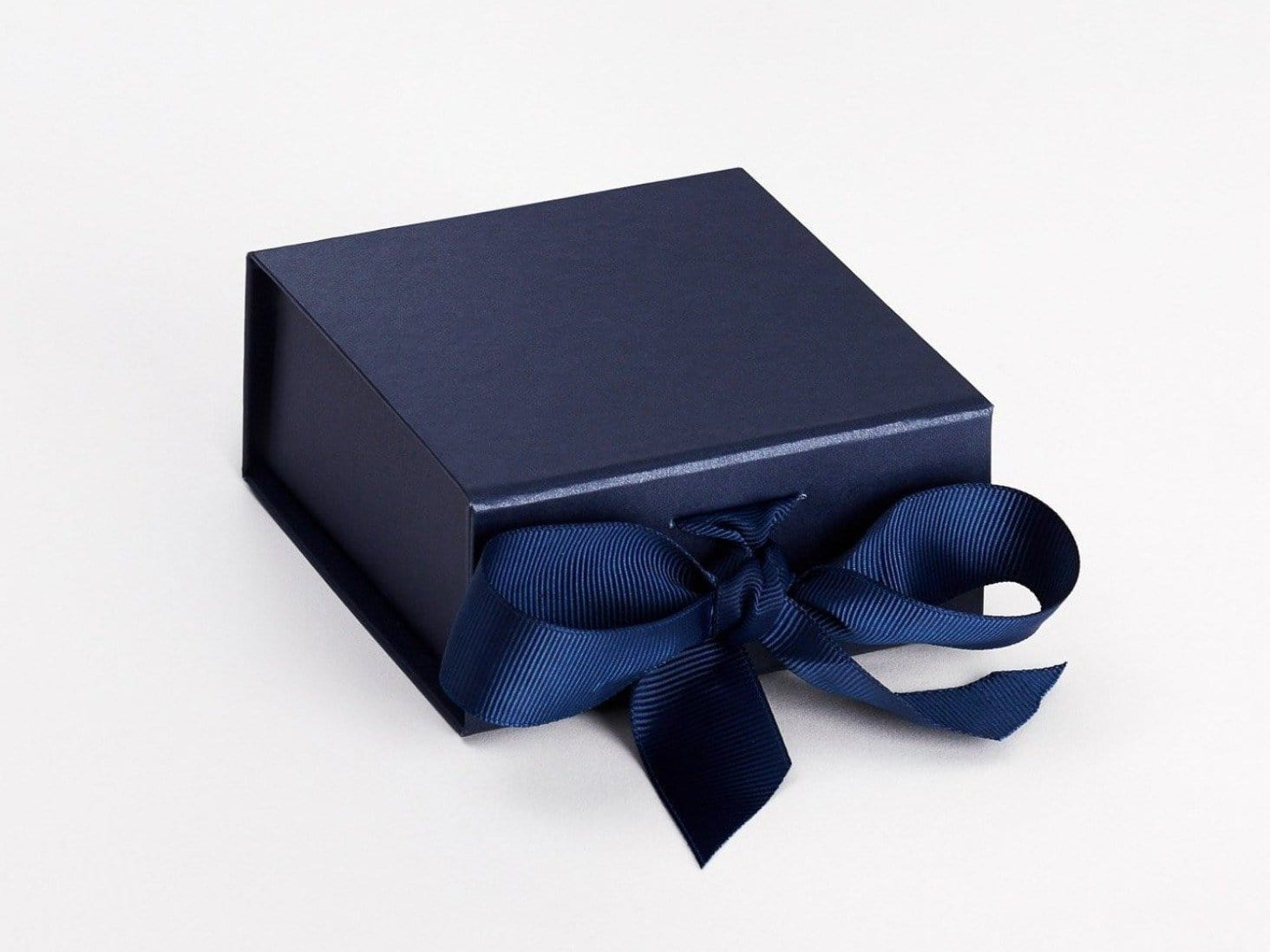 Navy Blue Small Folding Gift Box