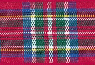 Sample Length Royal Stewart Tartan Ribbon