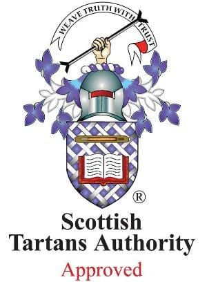 Scottish Tartans Authority Approved Dress Stewart Ribbon