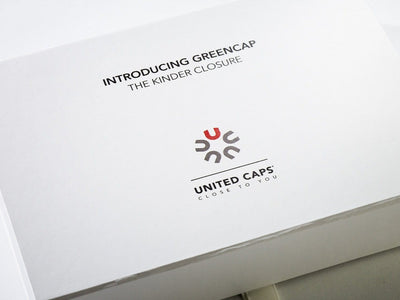 White Folding Gift Box with CMYK Printed Logo to Lid
