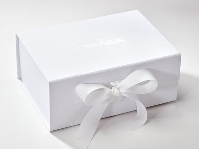 A5 Deep Gift Box with Custom Foil Printed Design