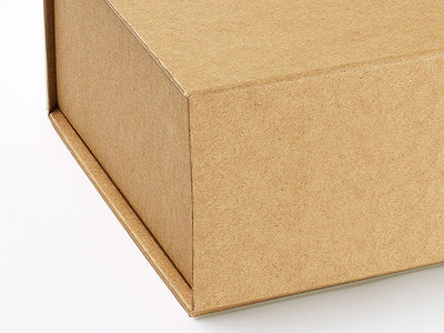 Natural Kraft Finish Eco-Friendly Gift Box Paper Detail