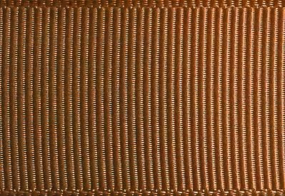Golden Brown Grosgrain Ribbon Sample
