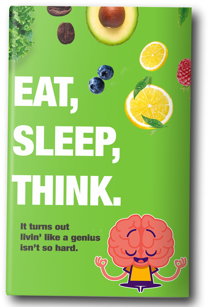 niche-nutrition - Eat, Sleep, & Think like a genius with our FREE e-Book. - eBook
