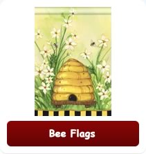 Decorative Bee Flags
