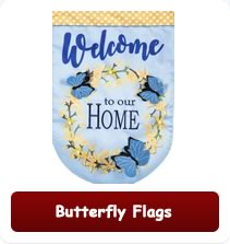 Decorative Butterfly Flags