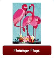 Decorative Flamingo Flags