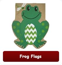 Decorative Frog Flags