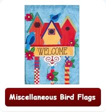 Decorative Miscellaneous Bird Flags