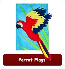 Decorative Parrot Flags