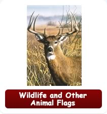 Decorative Wildlife and Other Animal Flags