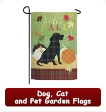Dog, Cat and Pet Garden Flags