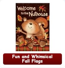 Fun, Whimsical Fall Flags
