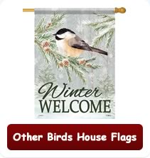 Other Birds House Flags