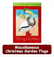 Miscellaneous Christmas Garden Flags